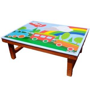 Meja Lipat Kecil - Cara Asik Mengajar Anak Mengenal Warna