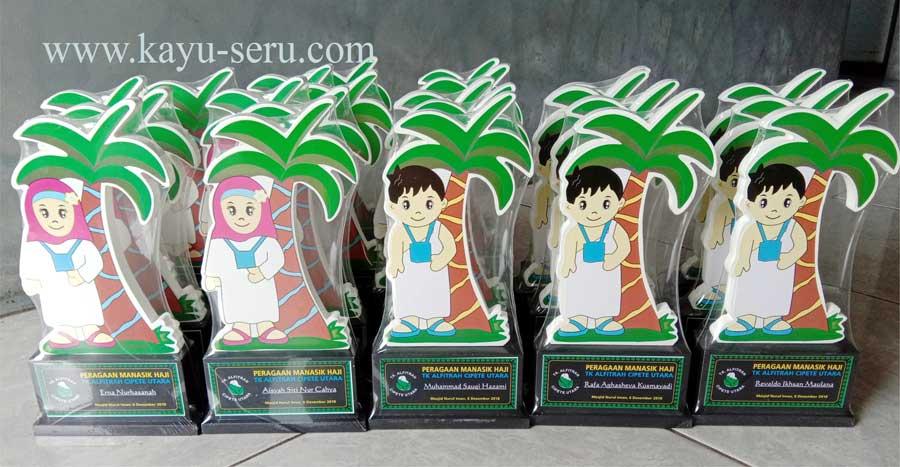 plakat cipete - Plakat TK Alfitrah Cipete, Plakat Peragaan Manasik Haji