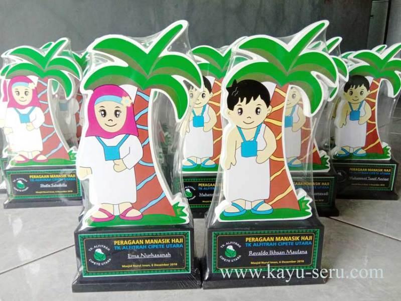 plakat manasik haji cipete - Plakat TK Alfitrah Cipete, Plakat Peragaan Manasik Haji