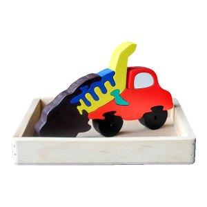 puzzle truk pasir - Puzzle Truk Pasir 3D