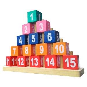 piramida angka - Mainan Hijaiyah Berdiri Masjid Pesanan Custom
