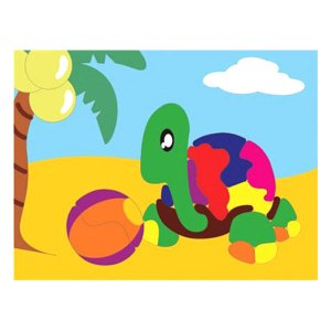 puzzle gambar kura kura - Puzzle Gambar Kura-Kura