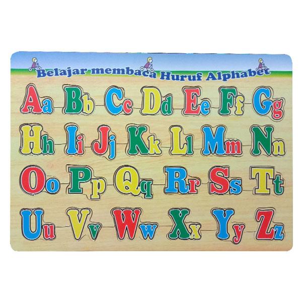 puzzle huruf besar kecil - Paket Puzzle Murah isi 6