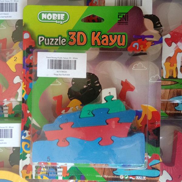 puzzle perahu 3d - Puzzle Perahu 3D