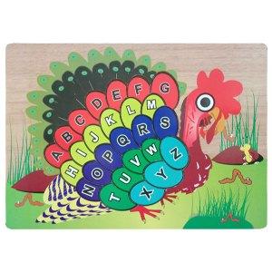 burung merak puzzle - Puzzle Burung Merak