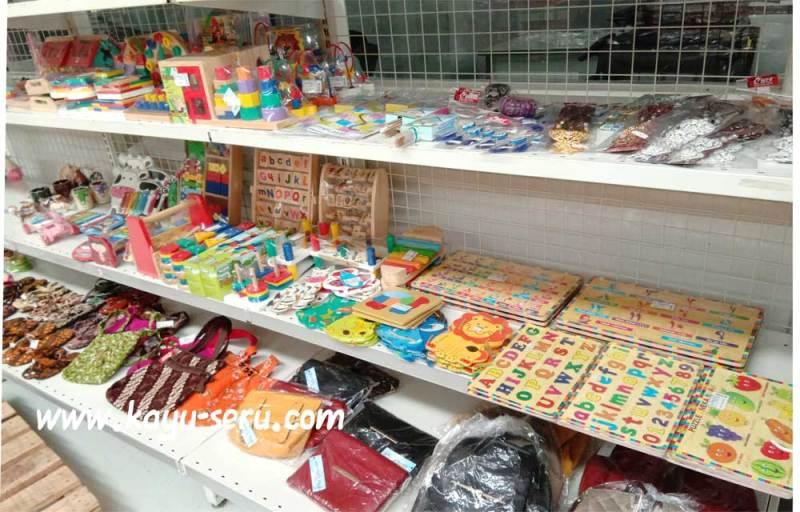 Kayu Seru di Goro Cibubur - Produk Mainan Kayu Seru Kini Bisa Dibeli di Goro Cibubur