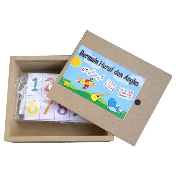 kartu huruf dan angka - Kartu Huruf dan Angka