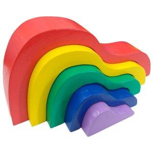 pelangi susun bentuk bukit - Pelangi Susun Bentuk