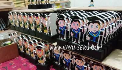 plakat custom wisuda siap kirim - Plakat Custom Wisuda PAUD Cahaya Ilmu Serang Banten