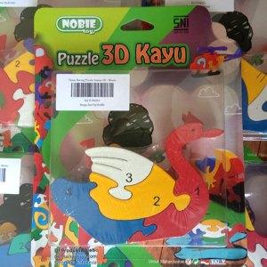puzzle angsa 3d - Puzzle Angsa 3D