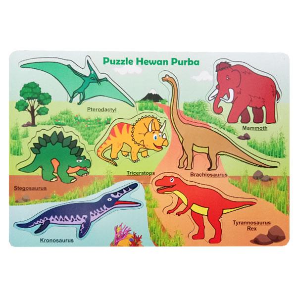 puzzle hewan purba - Puzzle Hewan Purba