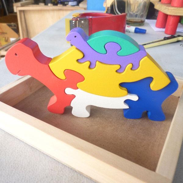 kurqa kura 3d - Puzzle Kura-kura 3D