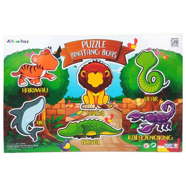 puzzle binatang buas - Puzzle Binatang Buas