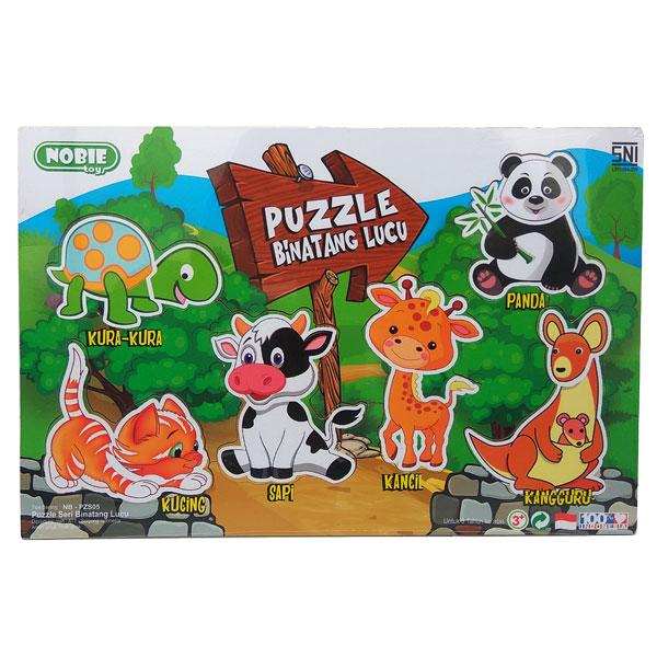 puzzle binatang lucu - Puzzle Binatang Lucu