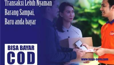 COD Kayu Seru - Menerima Pembayaran COD Pembelian Mainan Edukatif