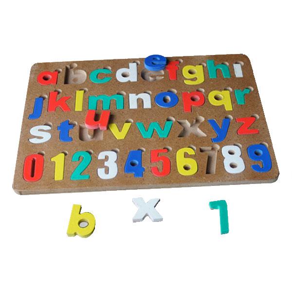 puzzle huruf kecil dan angk - Puzzle Huruf Kecil & Angka Cat