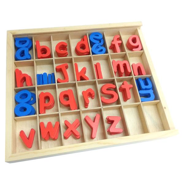 Alphabet kayu satuan - Alphabet Kayu Satuan