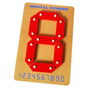 Angka Digital 1 Digit - Angka Digital 1 Digit