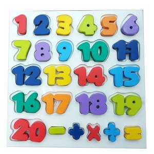 Puzzle Chunky Angka 0 20 - Puzzle Chunky Angka 1-20