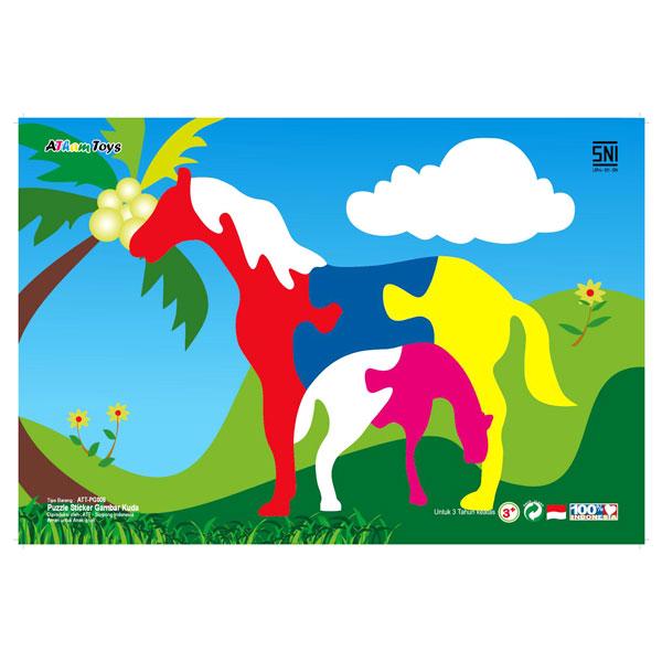 Puzzle Gambar Kuda - Puzzle Gambar Kuda