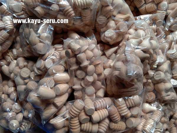 wooden loose parts - Membuat Loose Parts Versi Pengrajin Lokal Indonesia