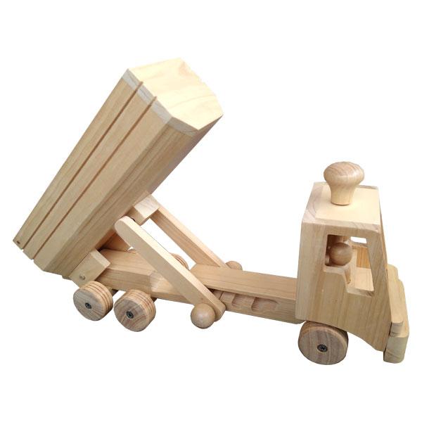 Truk mainan kayu - Mainan Truk Kayu