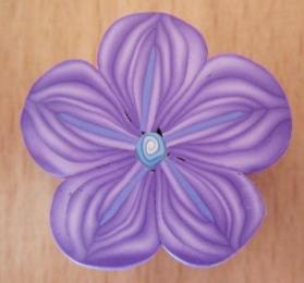 purple flower cane