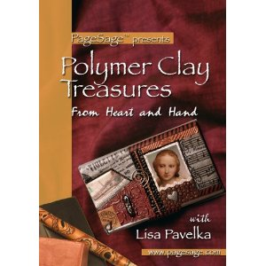 lisa pavelka 'polymer clay treasures' DVD