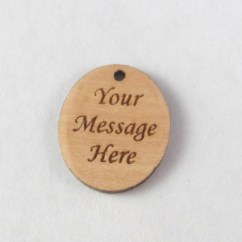 message on back of handprint charm