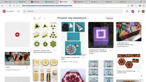polymer clay kaleidoscope canes pinterest board - K Vincent