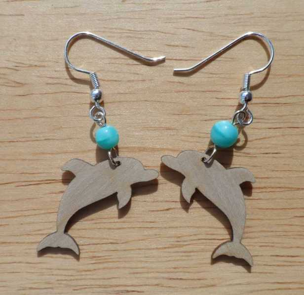 laser-cut wooden dolphin earrings-compressed