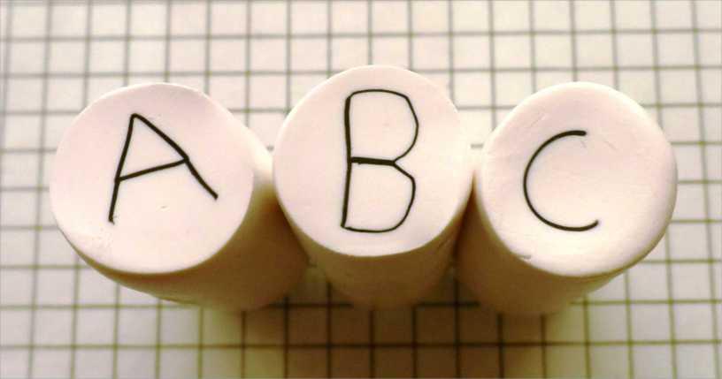 polymer clay alphabet canes