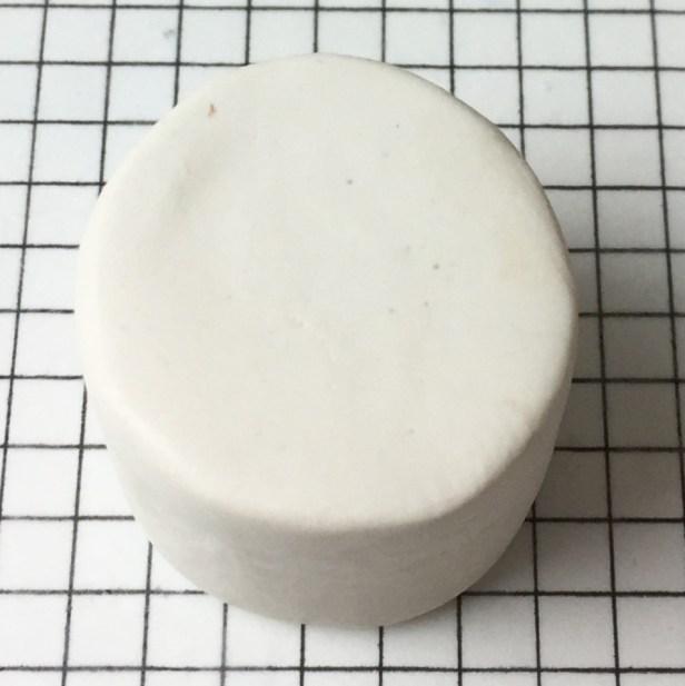 Letter Y polymer clay alphabet cane tutorial - white cylinder