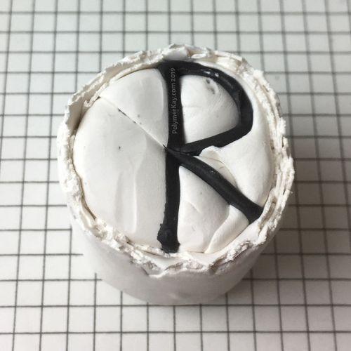 Letter R cane - KayVincent