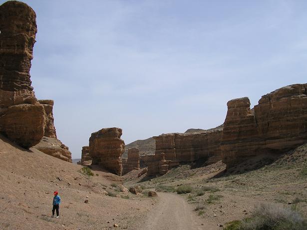 iman-exploring-charyn-valley