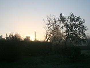 Lever de soleil en Loir-et-Cher - Matin de Novembre - Photo Marie Digne (Kazamarie)