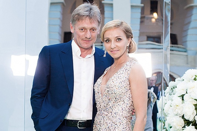 Дмитрий Песков женился на олимпийской чемпионке Татьяне Навке