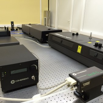 Pulse lasers in Laboratory of Photonics and fiber quantum optics