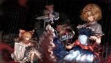 Konachan.com - 209315 cage dark doll headband kiyomasa_ren long_hair mage red_eyes shanghai_doll short_hair signed sword touhou weapon