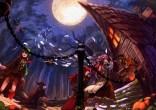 konachan-com-208830-animal-bandage-bat-berabou-building-cirno-demon-dress-fairy-group-halloween-hat-koakuma-moon-night-paper-pumpkin-rumia-skirt-stairs-touhou-wings-witch