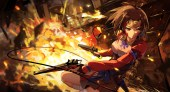 konachan-com-225458-bandage-blood-gun-haraguroi_you-koutetsujou_no_kabaneri-mumei_kabaneri-weapon