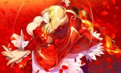 yande.re 384275 ass cleavage dress fate_extra fate_grand_order fate_stay_night pantsu saber_extra sword yuunagi
