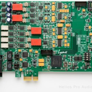 Lynx E44 4 Channel Analogue & 4 Channel Digital I/O PCIe Card