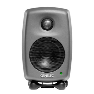 Genelec 8010APM Studio Monitor, Dark Grey - Single