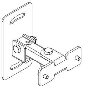 Eve Audio SC204/SC205 Backside Wall Mounting Adapter Assembly