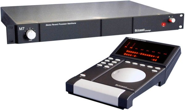 Bricasti System 3 Includes M10 Remote and 4 x M7-M Reverbs and Cables
