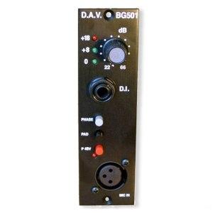 DAV BG501 500 Series Mic-Pre/DI