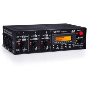 Fostex DC-R302 DSLR Mixer and Recorder