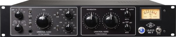 Universal Audio LA-610 MKII Valve Microphone Preamp