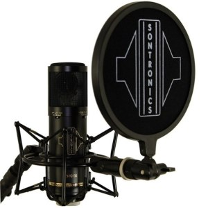 Sontronics STC-3X Pack, Black Includes; STC-20 Microphone, Pop, Cable and Carry Bag